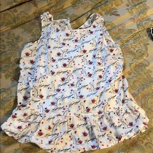Minnie Mouse sleeveless top